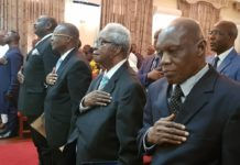 Judges for the Sierra Leone Commissions of Inquiry Subscribe to Oath of Office at State House