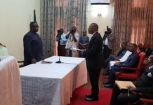 President Maada Bio launches the Commission of Inquiry
