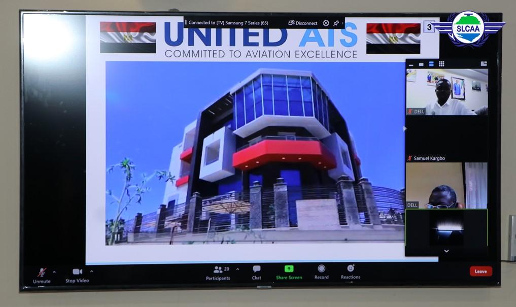 SLCAA and United ATS Discuss Capacity Building Partnership