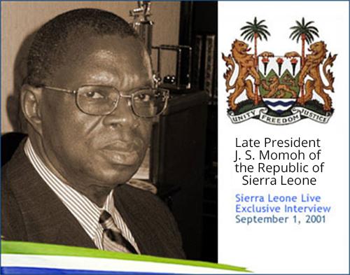 President Joseph Saidu Momoh