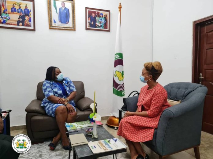 South Africa's New Envoy Pledges Country's Support to Sierra Leone