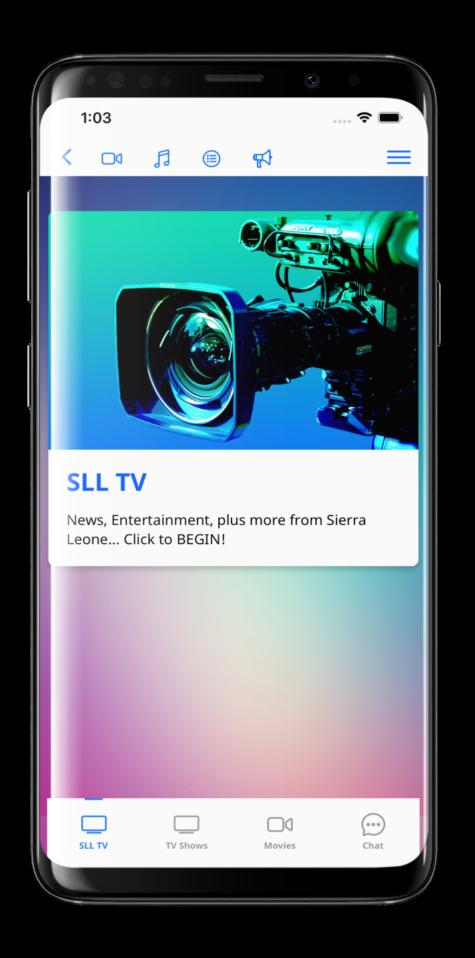 SLL Mobile App
