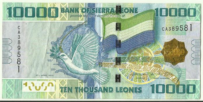 10,000 Leones